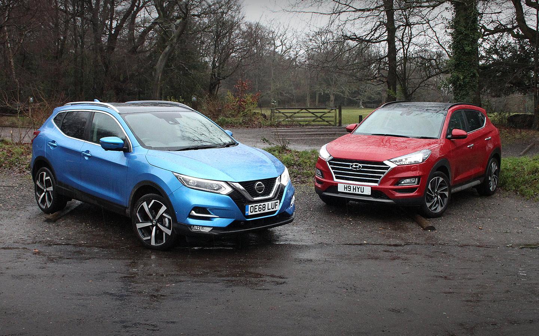Nissan Qashqai vs Hyundai Tucson ¿Con cuál te quedas ?