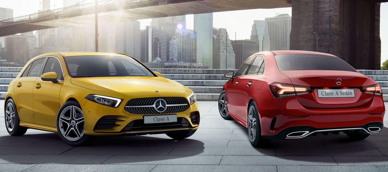 Mercedes-Benz CLASE A Y CLASE A SEDÁN cara a cara