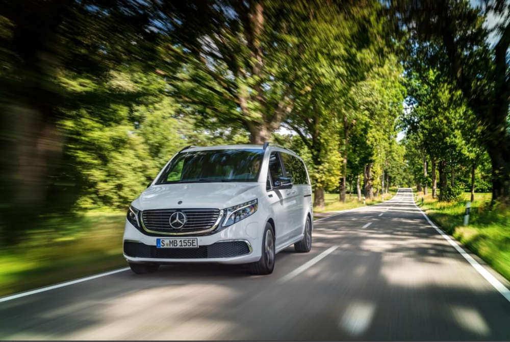 nuevo EQV de Mercedes-Benz