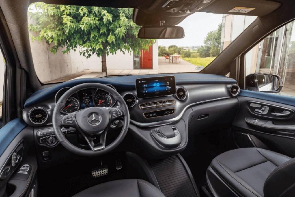 EQV Mercedes-Benz interior