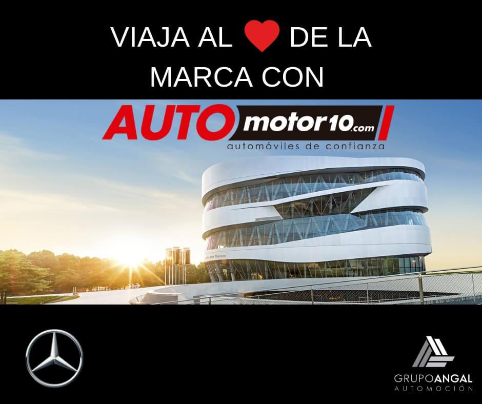 Viaja al corazón de la marca Mercedes-Benz con Automotor10.com