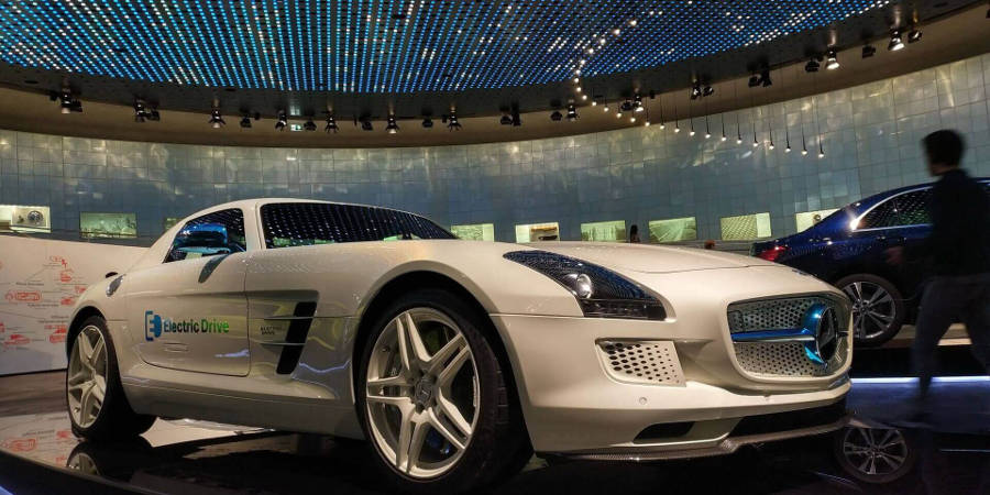 Mercedes SLS 100% electrico