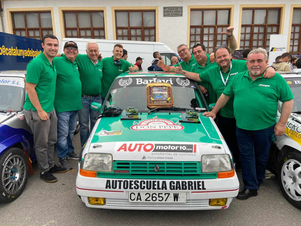 Amador Jaén y Automotor10 se apuntan a la Subida a Ubrique
