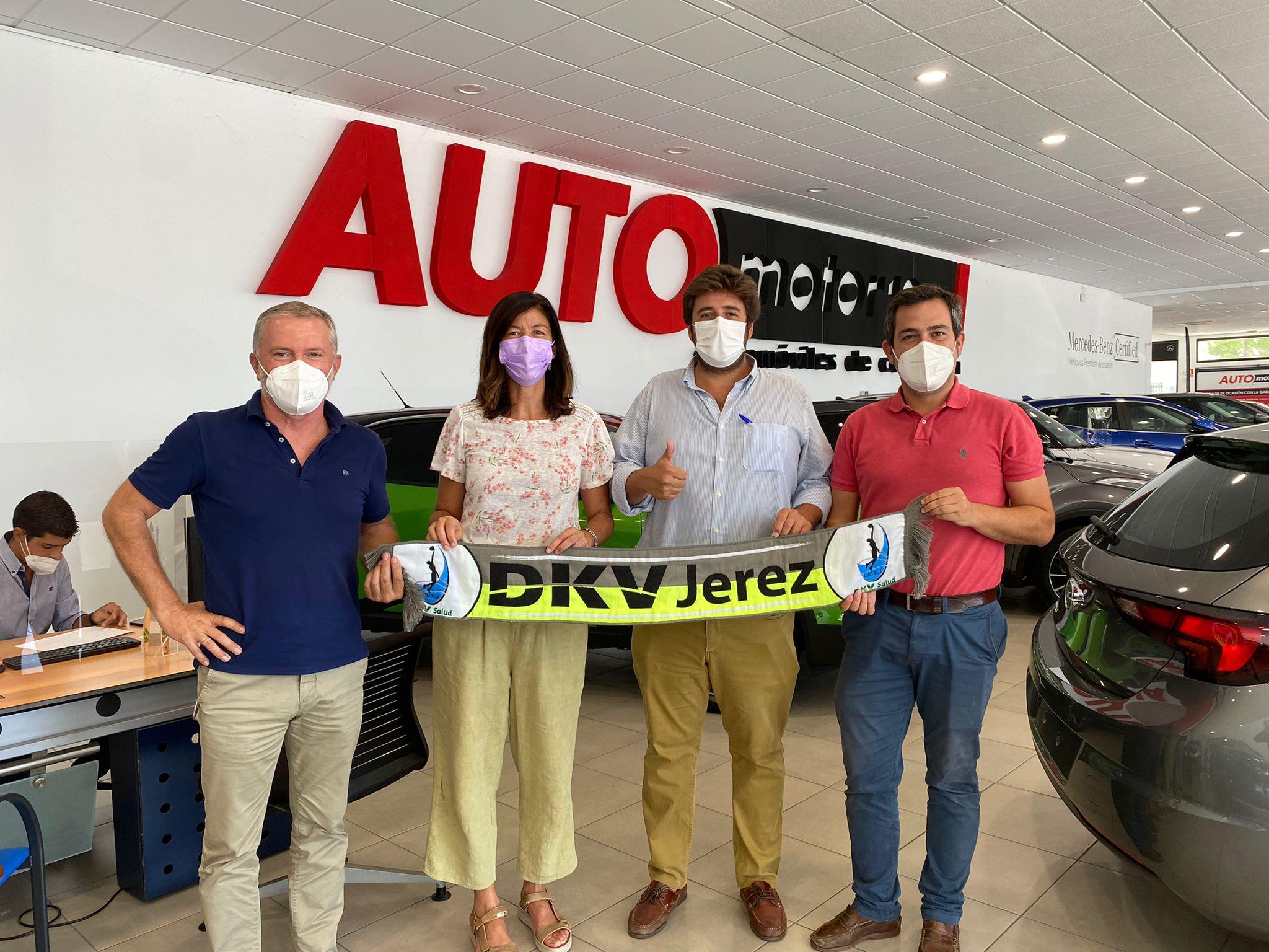 Automotor10 y DKV Jerez Baloncesto unen sus caminos