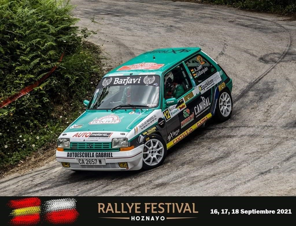 Rally Hoznayo: Automotor10 con Amador Jaén
